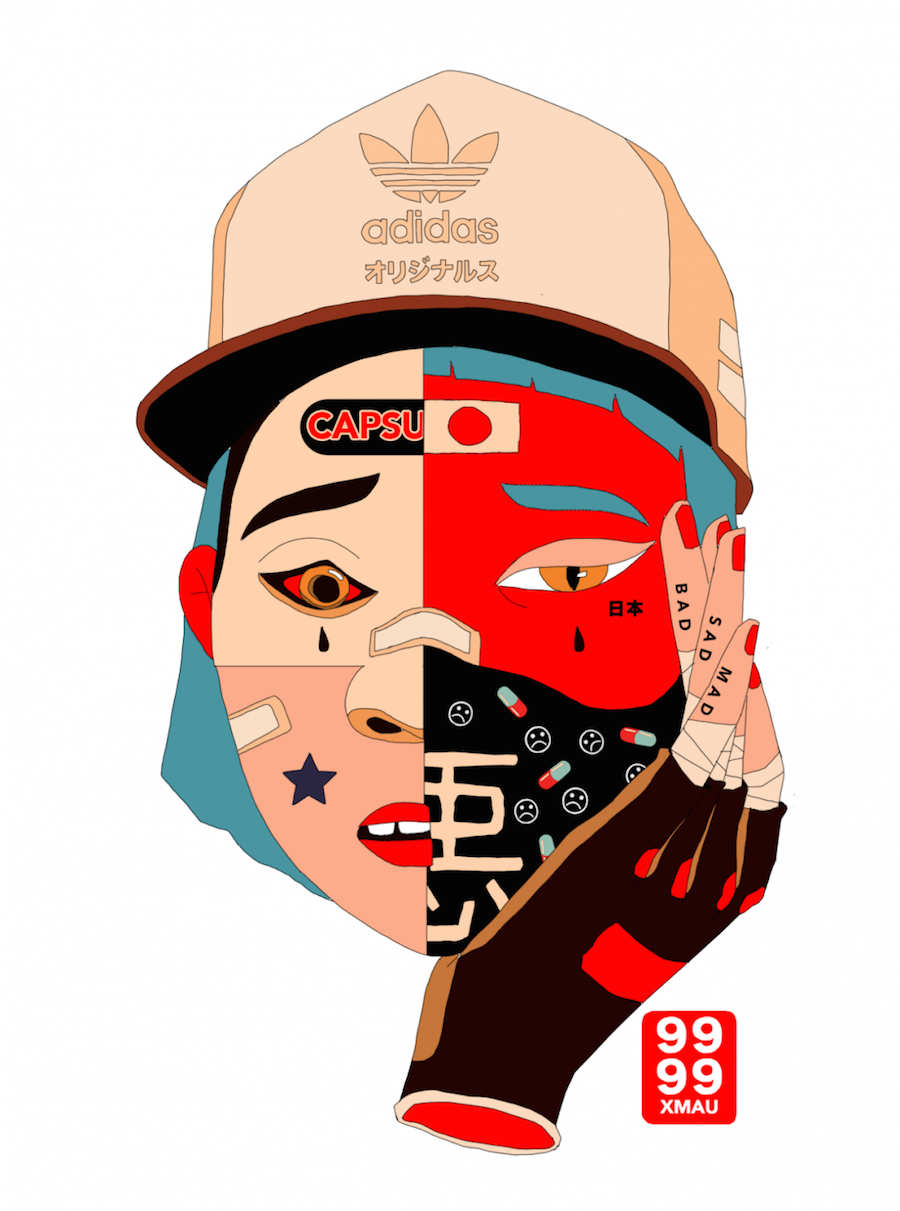 Original Streetwear Illustrations by Mau Lencinas