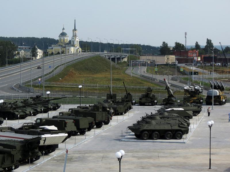 Верхняя пышма военный городок