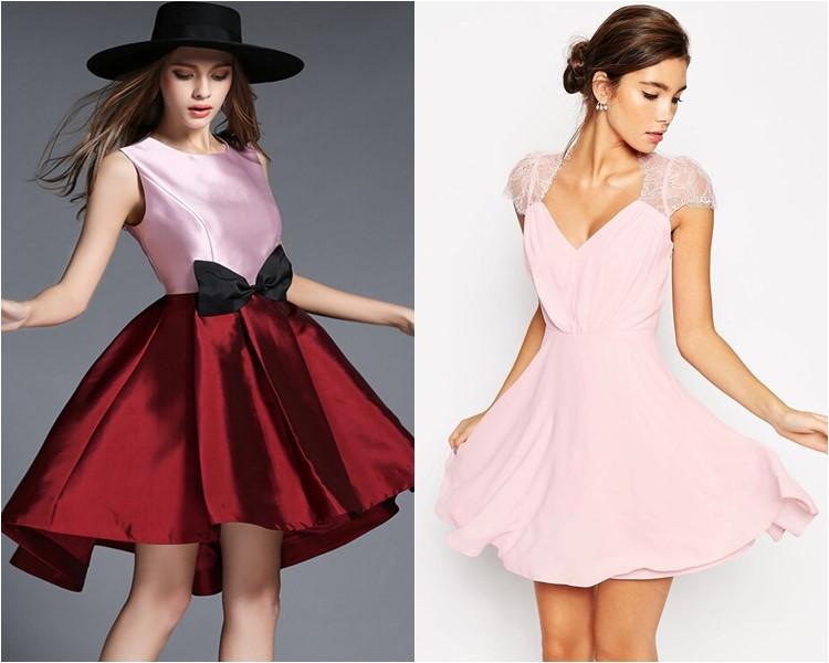 Модные короткие платья 2016 фото 3