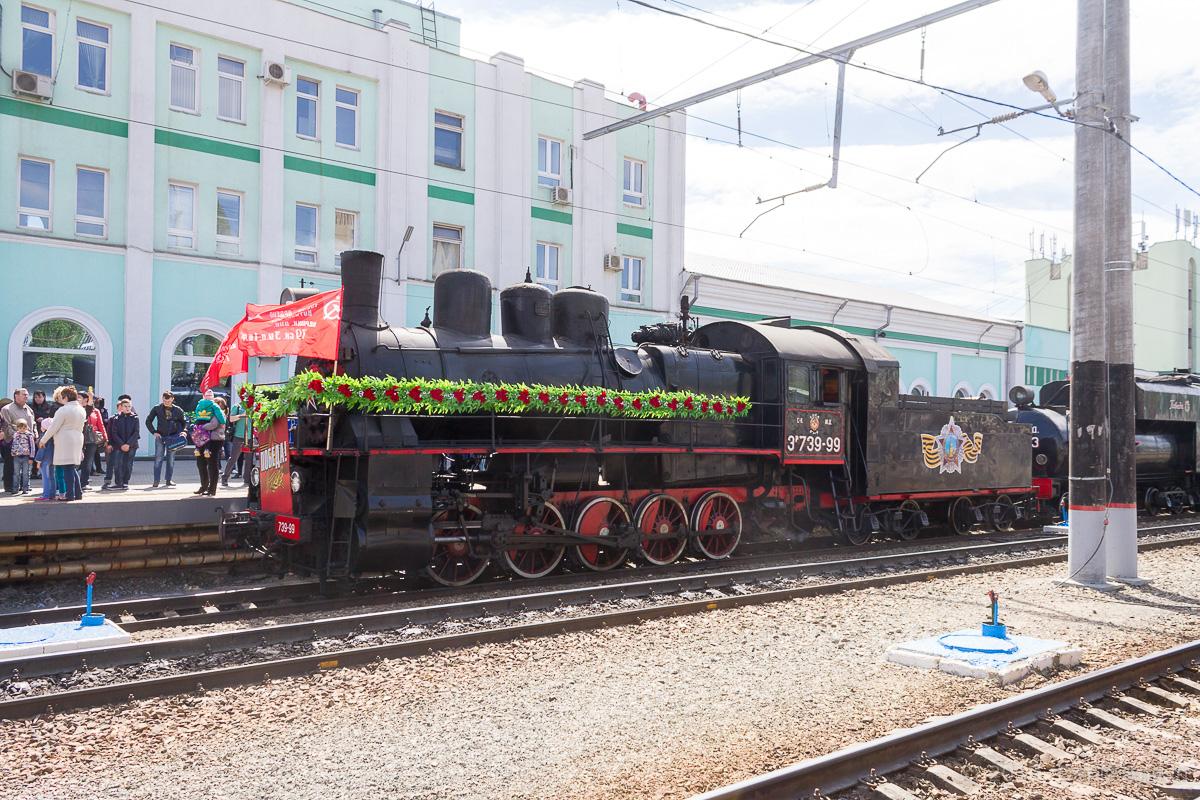 Ретро-поезд Победа фото 21