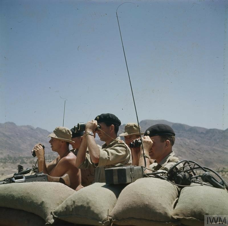 THE BRITISH ARMY IN ADEN AND THE SOUTH ARABIAN FEDERATION