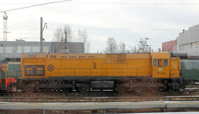 ТЭМ7А-0346 в депо Орехово