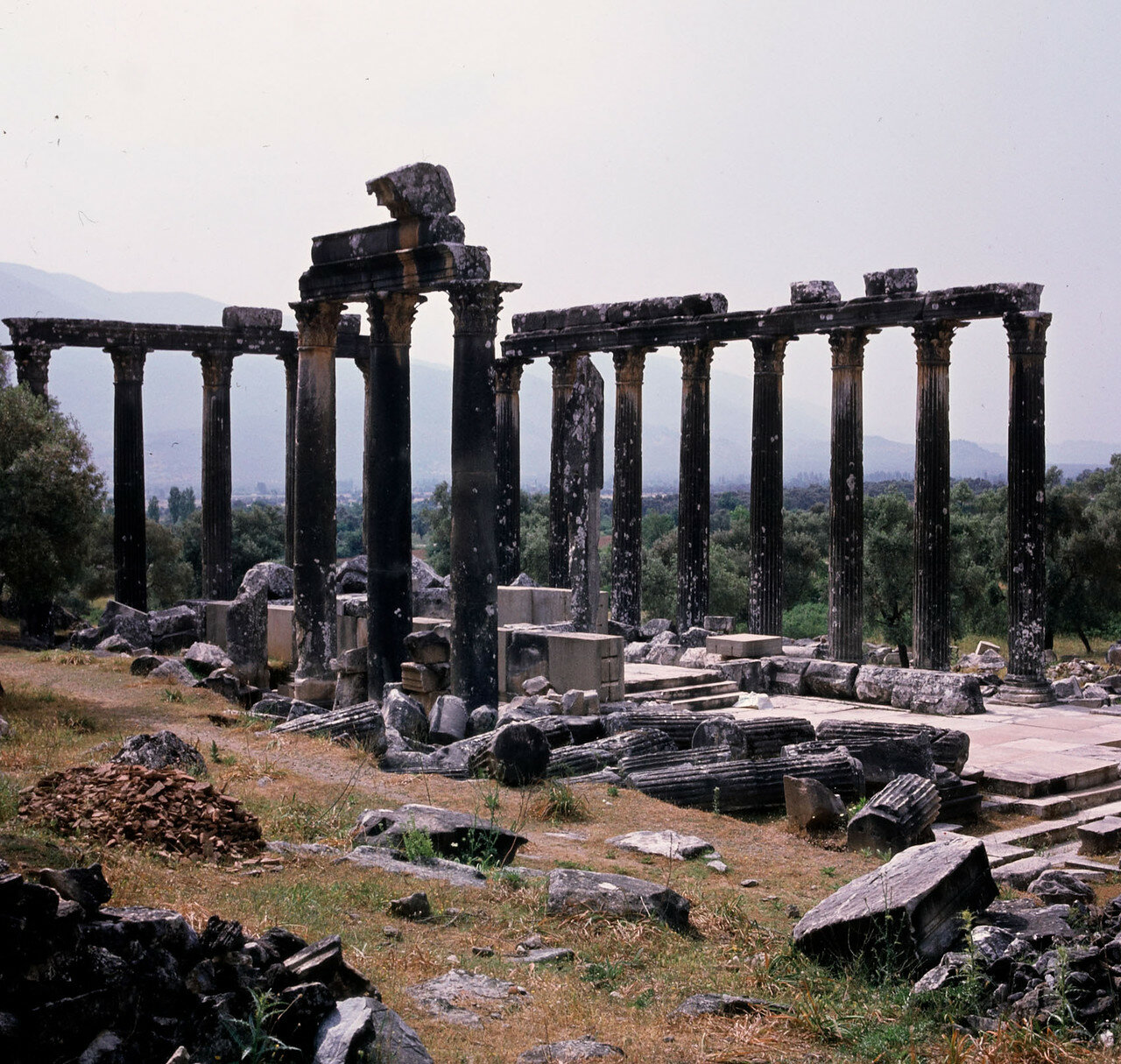 Евромос. Храм Зевса