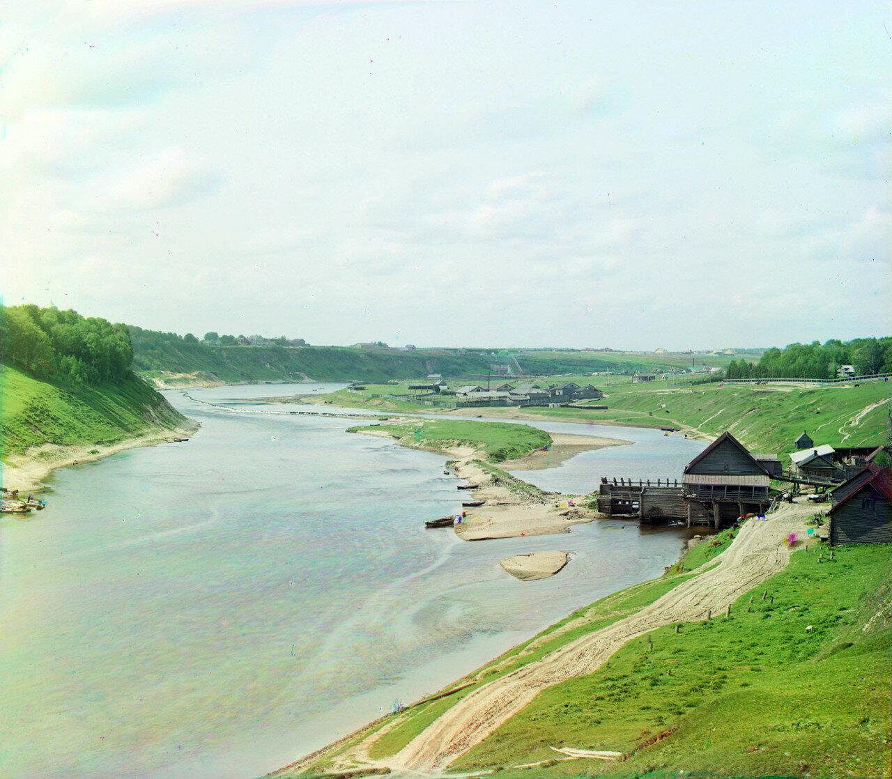 Плотина и мельница на Князь-Федоровской стороне