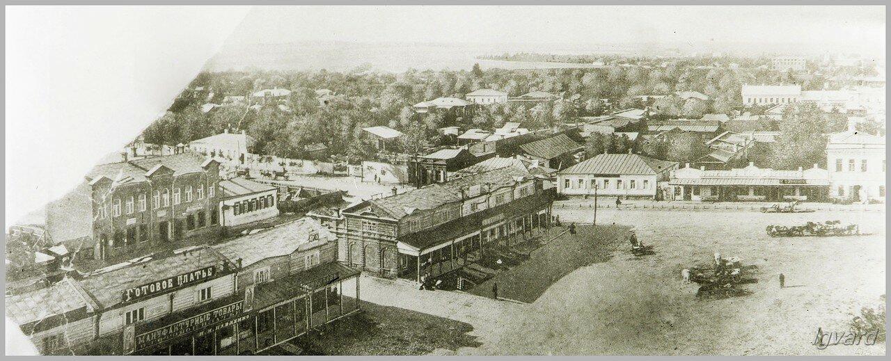 Западная сторона Базарной площади