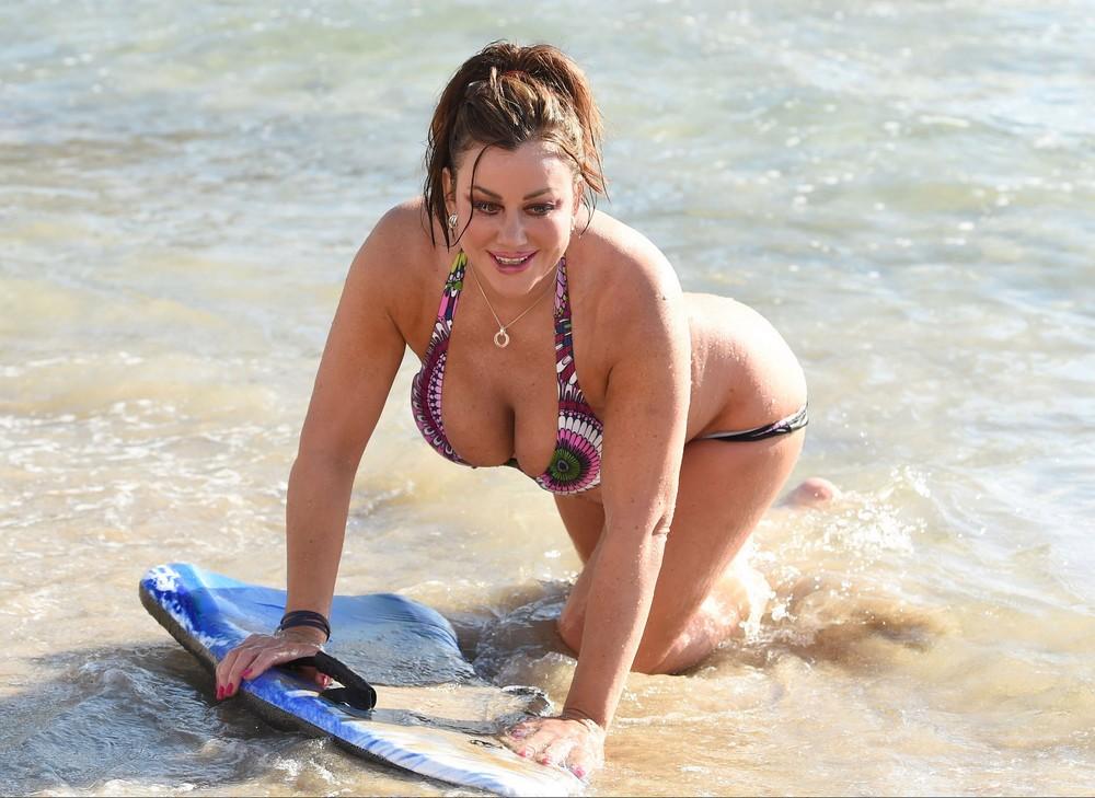 Лиза Эпплтон отдыхает в Мексике