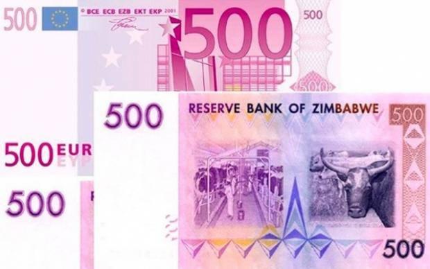 В Херсоне мошенник под видом евро успешно обменял на гривну 500 долларов Зимбабве (фотофакт)