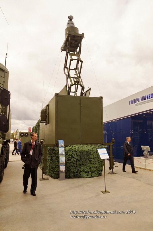 Корабельный комплекс оптико-электронного подавления МДМ-2Э. Форум Армия-2016, парк Патриот
