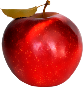 apples are red