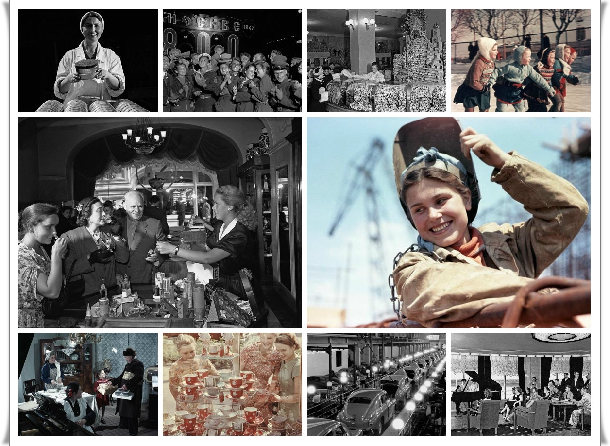 Советское благосостояние (24 фото)