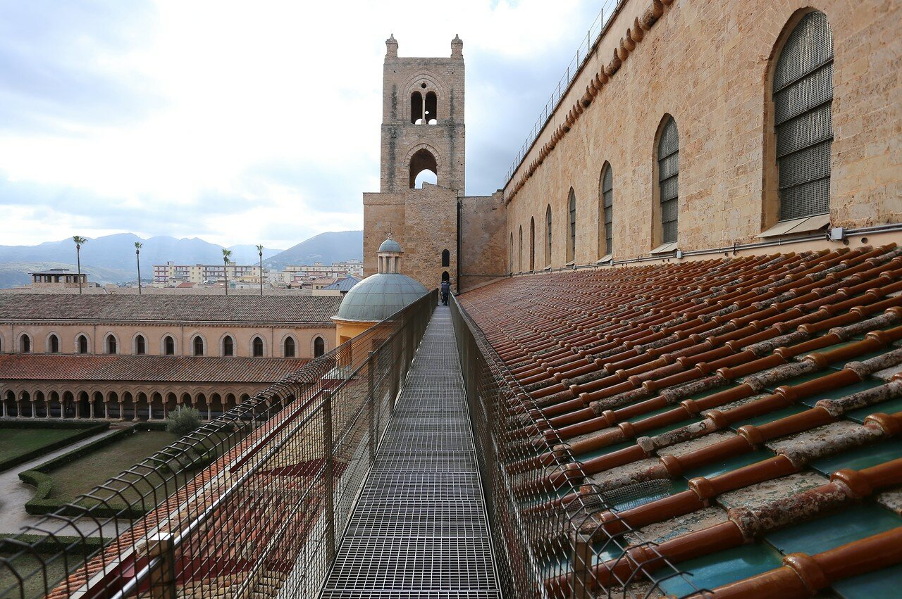 Monreale Cathedral roof