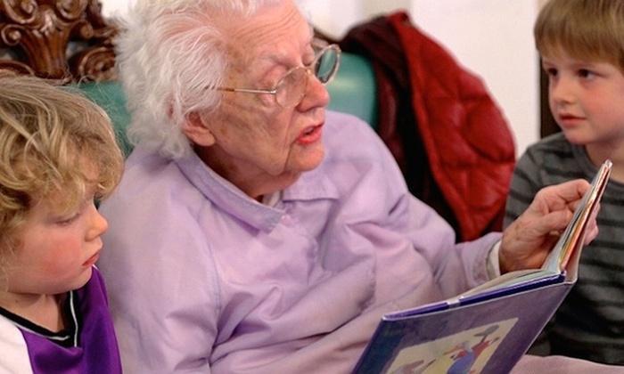 Интересная идея совмещения детского сада и дома для престарелых