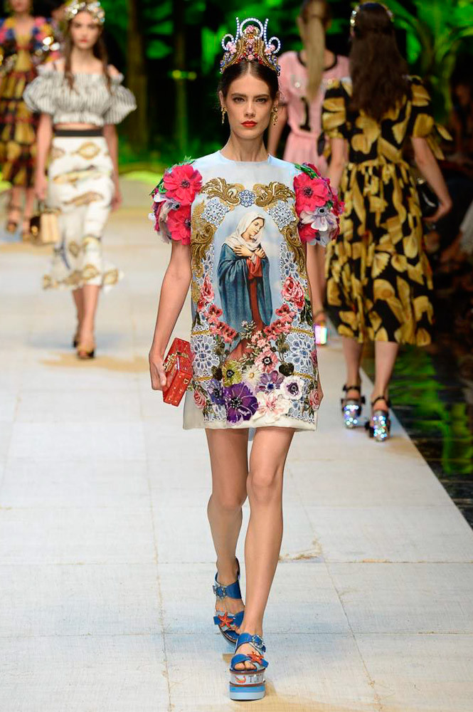 Неделя моды в Милане: Dolce & Gabbana весна-лето 2017