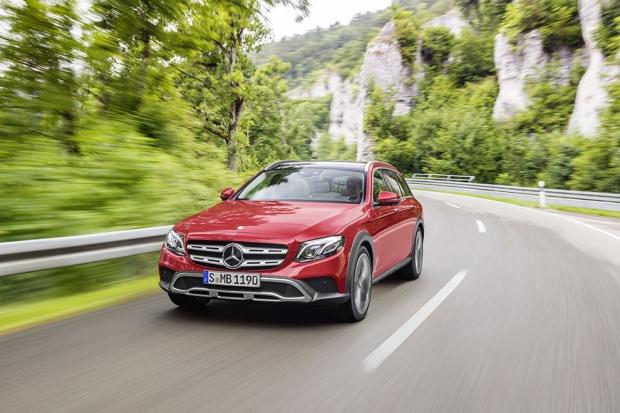 Mercedes-Benz E-Class All-Terrain Универсал повышенной проходимости от Mercedes-Benz – автомоб
