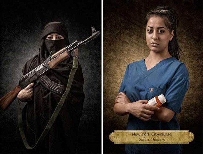 Сахар Шалим, медсестра в городской больнице Нью-Йорка.