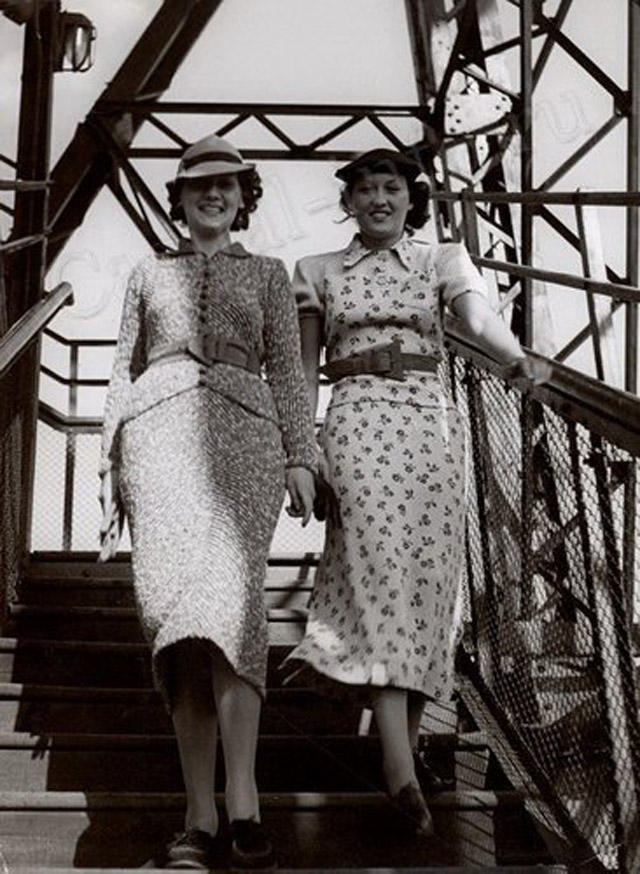 11. Длинные юбки стали эталоном моды в кризисные времена тридцатых годов. В 1929 году Жан Пату первы
