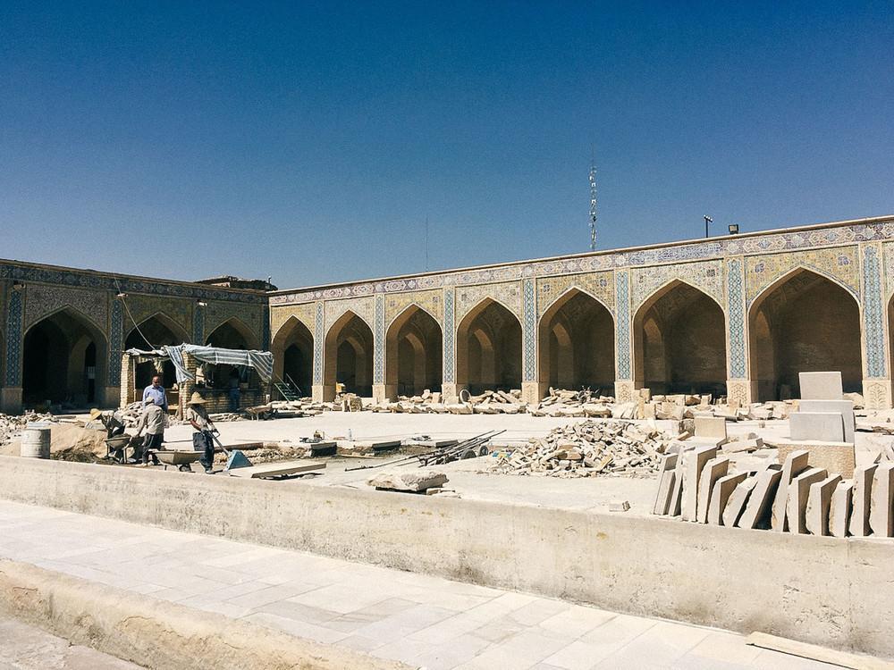 Мечеть Вакиль в Ширазе.
