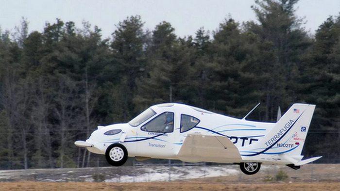 Футуризм сегодня: летающие машины. В принципе, это уже реальность. Первый экспериментальный летающий