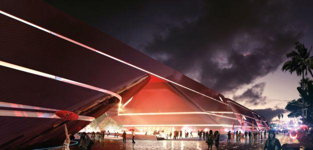 1-е место в категории «Крупный проект городского строительства». Вокзал Астана в Казахстане. Автор п