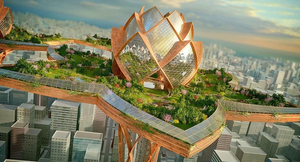 10инопланетных архитектурных проектов будущего
