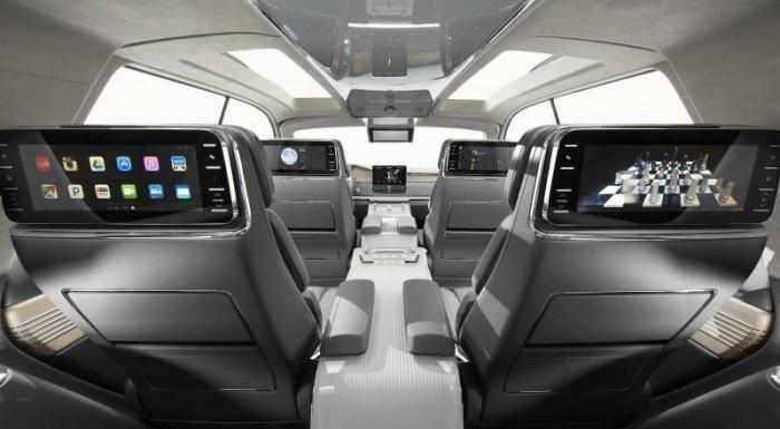 Lincoln представил смелый концепт нового Navigator