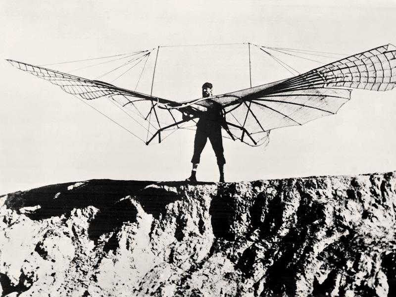 Отто Лилиенталь — талантливый конструктор, на счету которого множество интересных авиационных решени