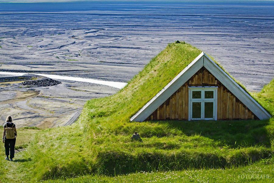 Сказочные скандинавские домики: красиво и экологично