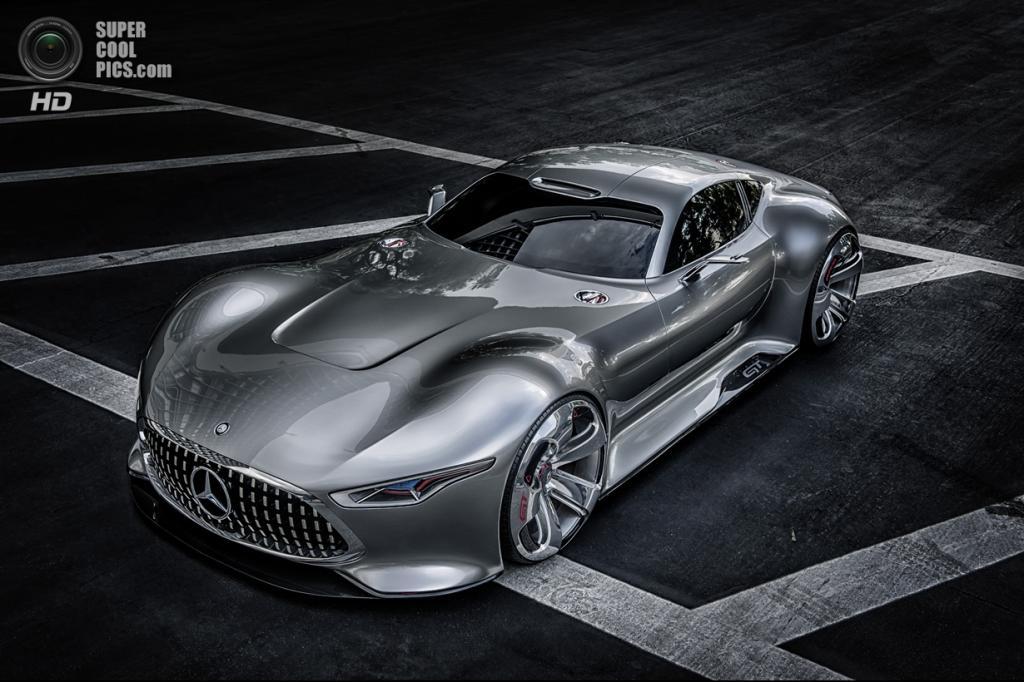 Из игры в реальность: Концепт-кар Mercedes-Benz (6 фото)