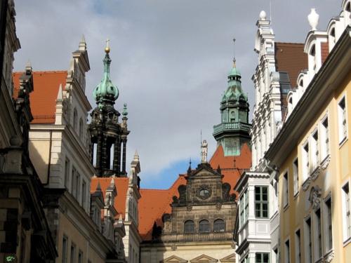 *Дрезден. В старом городе
