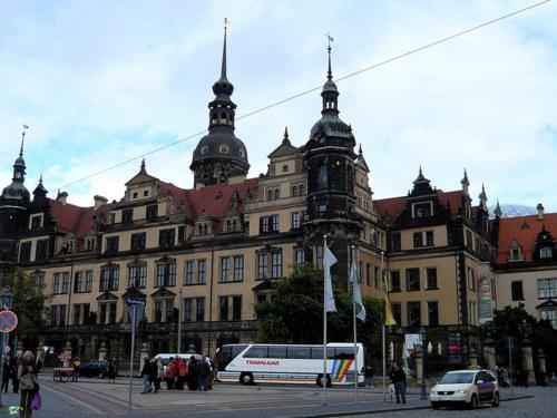 Дрезден. Замок-резиденция