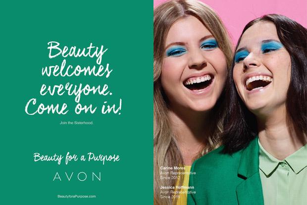 Fashion photographer Miles Aldridge at 2b Management captures Avon's Beauty for a Purpose campaign f