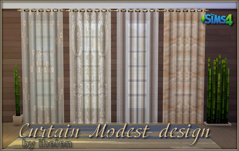 Curtain Modest design by ihelen