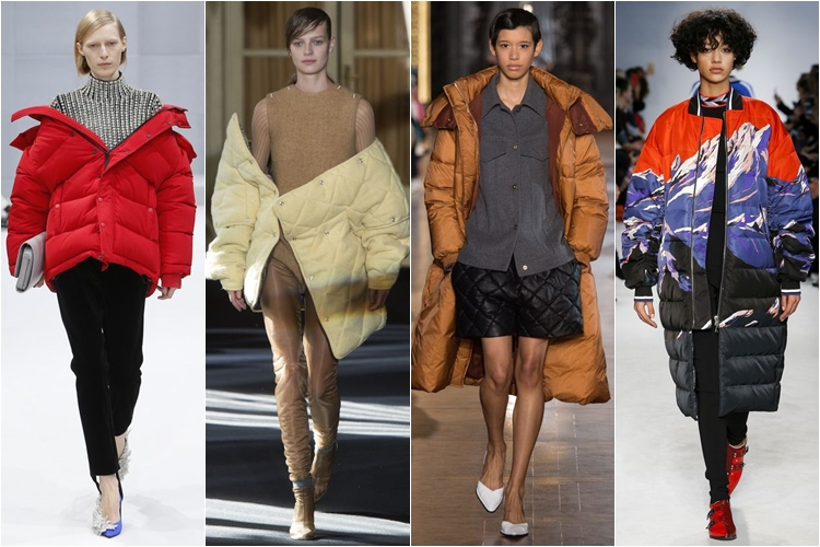 модные пуховики, тенденции осень-зима 2016-2017
