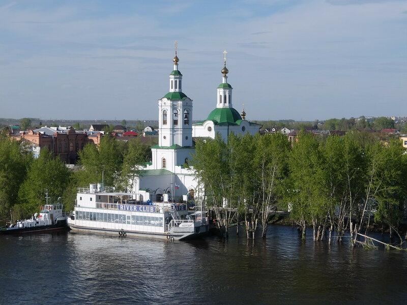 Тюмень - Вознесенско-Георгиевская церковь