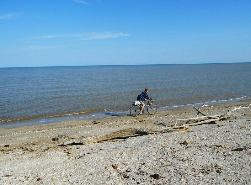 У воды, по влажному песку ... DSCN5617.JPG