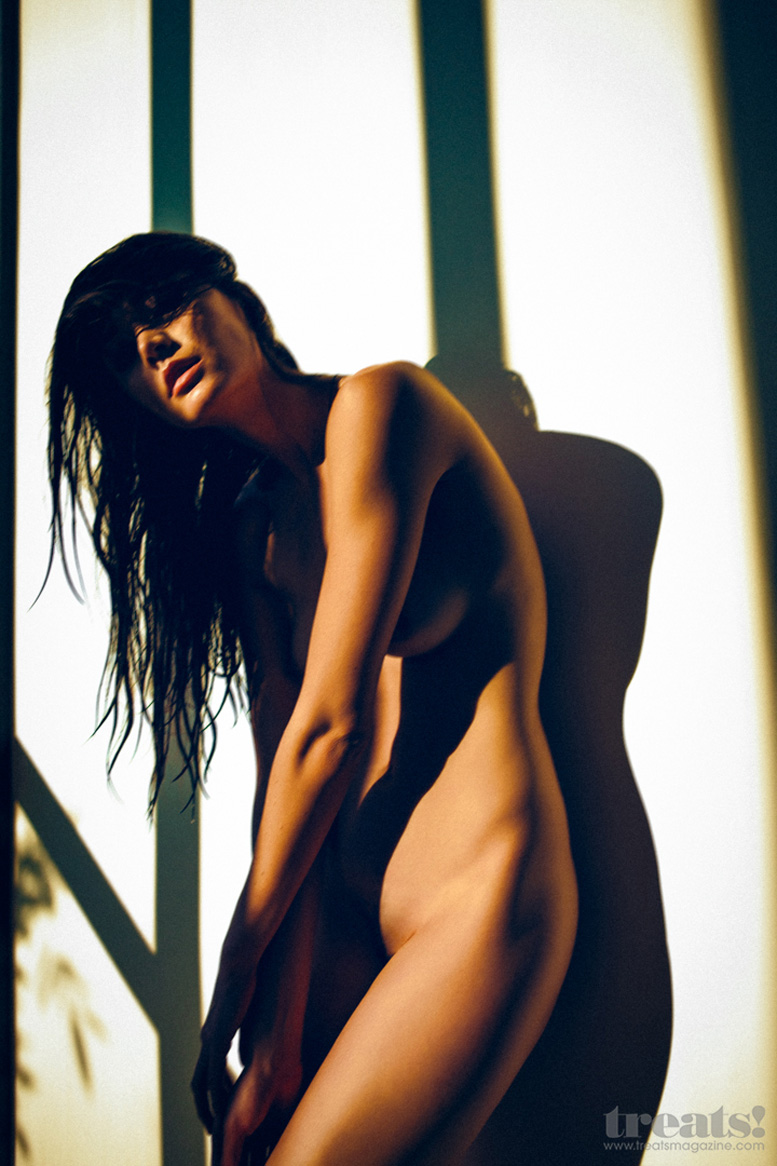 Monique Jacqueline nude by Ben Tsui - Treats! Magazine July 27, 2013