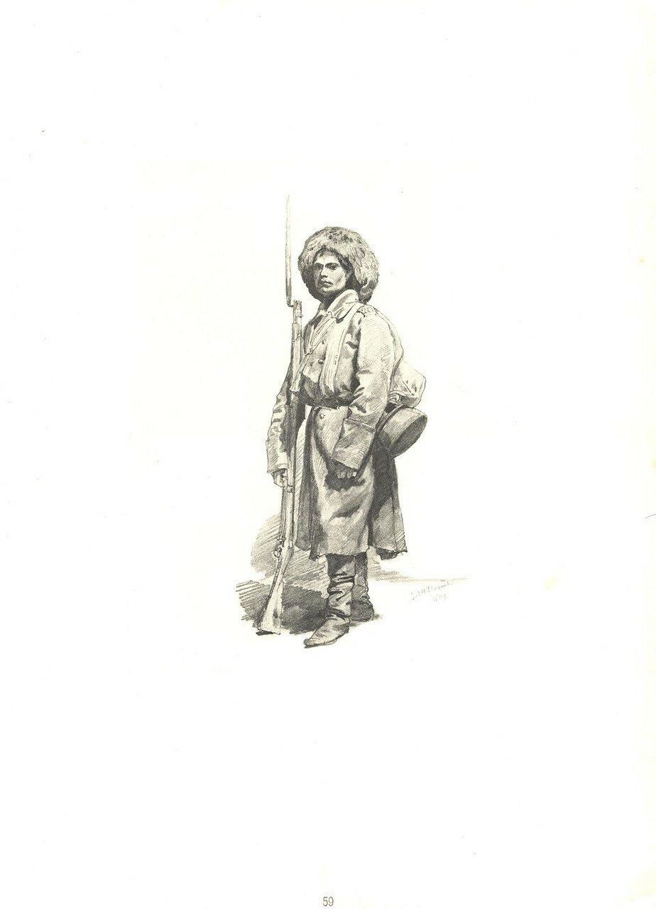 50. Артиллерист фейерверкер