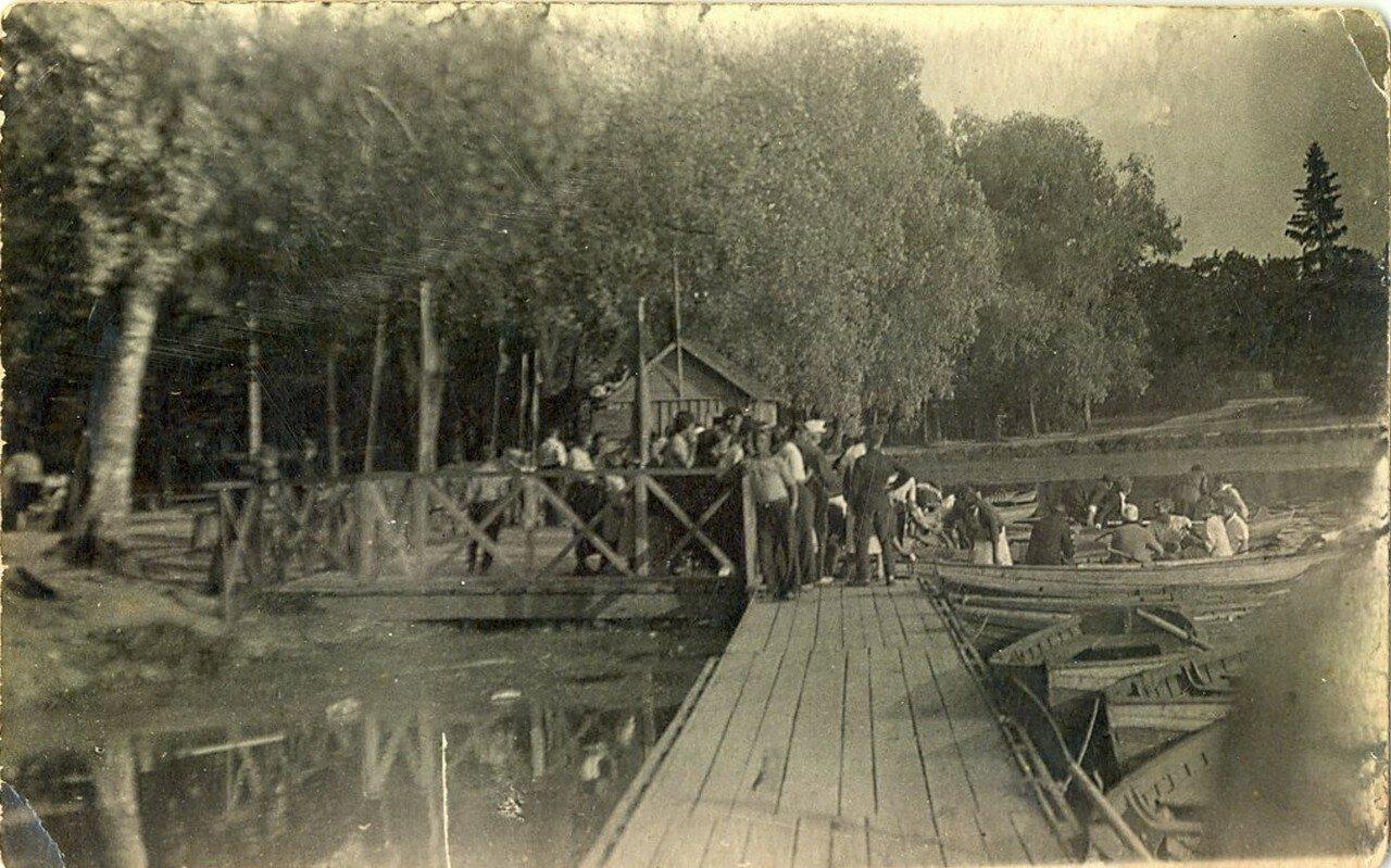 1939. Лодочная станция в гатчинском парке