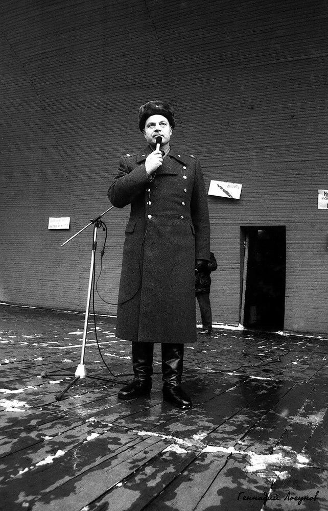 Нижний парк. Заместитель начальника управления исполнения наказаний (УИН) Валентин Петрович Сонин