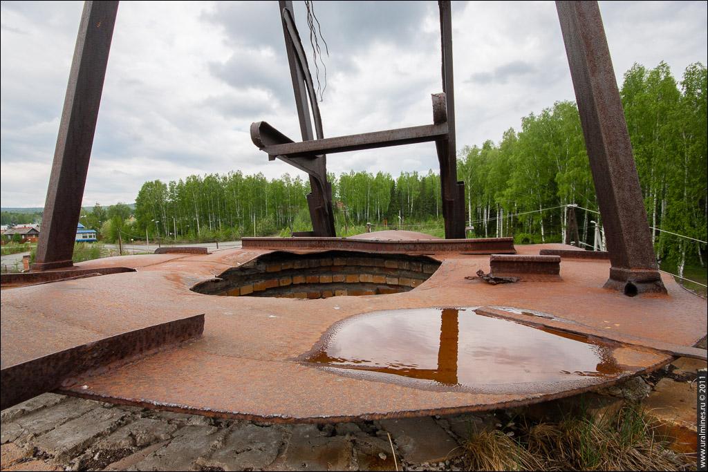 Известково-обжигательная печь Мурзинского карьера