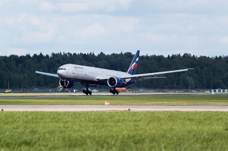Boeing 777-3M0/ER (VQ-BQB) Аэрофлот 306_D807452