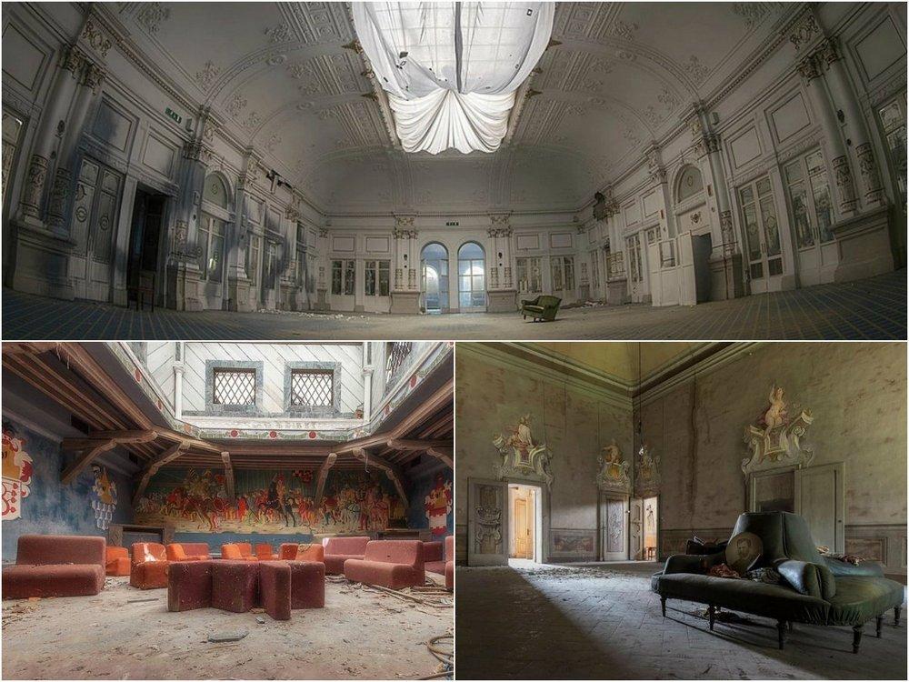 Исчезающая красота: заброшенные места Италии