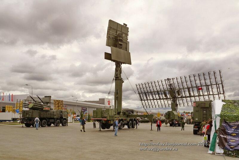 РЛС малых высот 48Я6-К1 Подлет-К1. Форум Армия-2016, парк Патриот