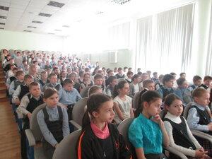 Встреча Ответственного за экологическую работу Московской епархии с учащимися средней школы № 5 в Мытищах
