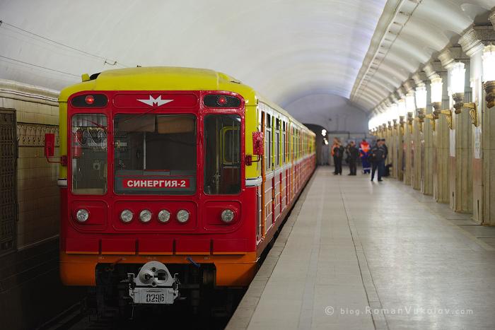 Кто ездит на поезде специального назначения в Московском метро