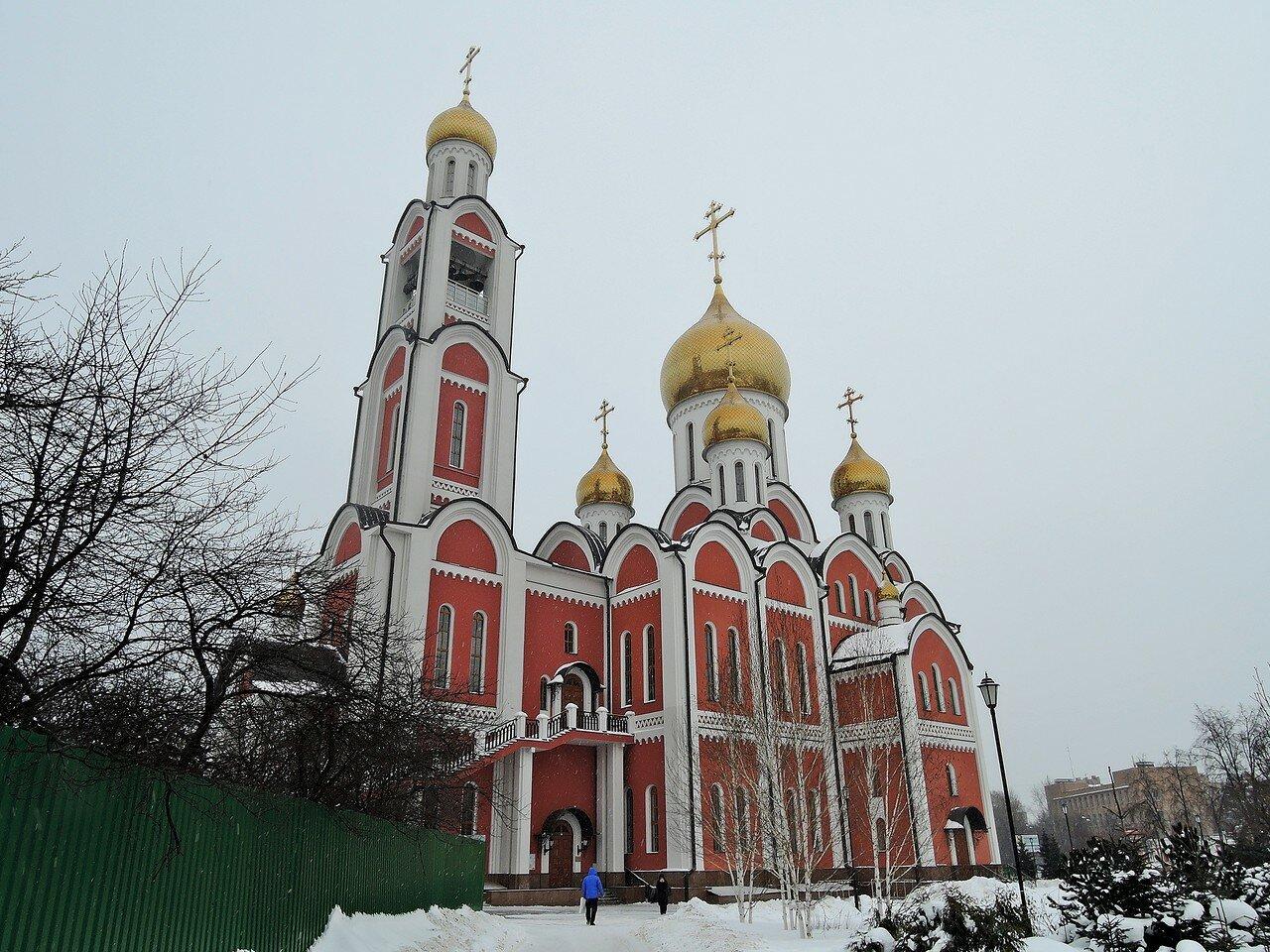 Храм Великомученика Георгия Победоносца в Одинцово