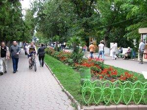Путешествие и отдых в Одессе - аллея