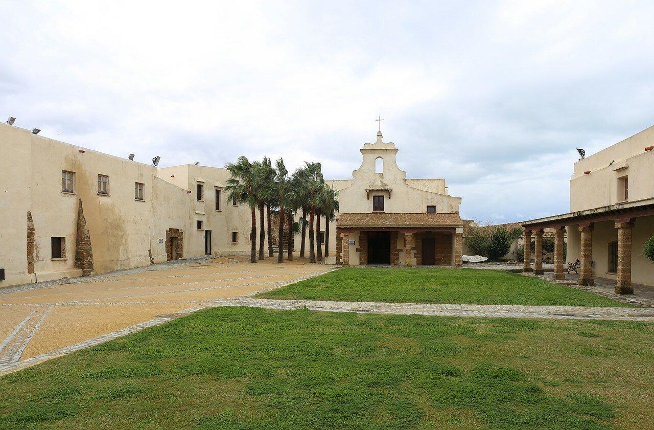 Cadiz. Castle of Santa Catalina (Castillo de Santa Catalina)