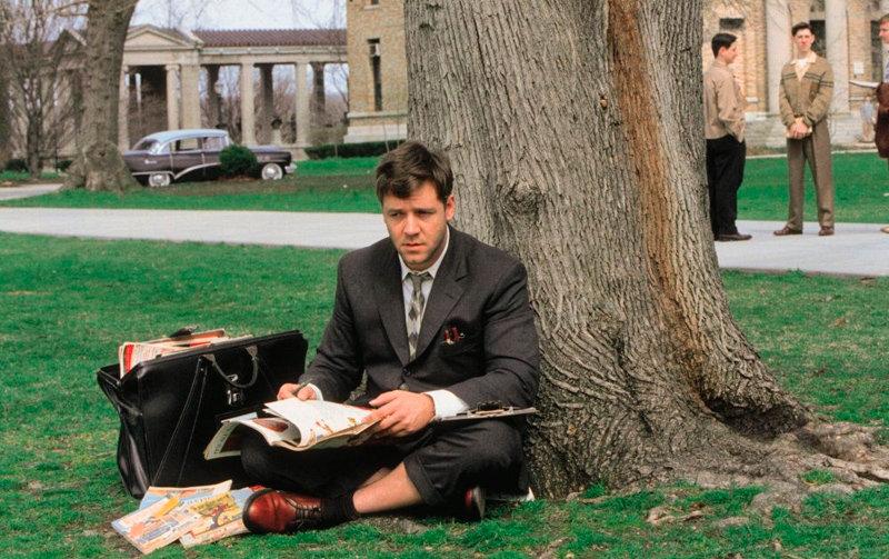 Побег из Шоушенка, 1994 Игры разума, 2001 Запах женщины, 1992 Хатико: Самый верный друг,2008 В