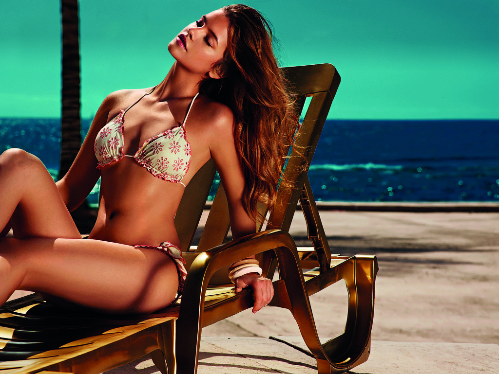 Barbara Palvin Bikinis for Twin Set Beachwear 2014